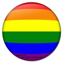 Rainbow Mousepad, round