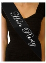 Hen Party Shoulder Strap, black