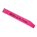 Mother of the Groom  Shoulder Strap, pink