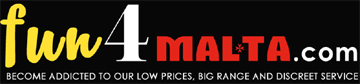 fun4malta.com - the real maltese sexshop-Logo