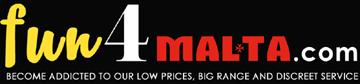 fun4malta.com - the real maltese sexshop-Logo
