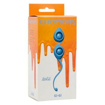 Vaginal balls Emotions Gi-Gi turquoise