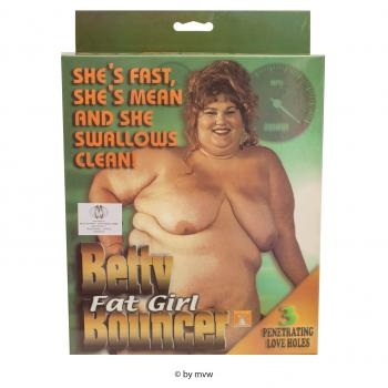 Betty Fat Girl Bouncer Doll