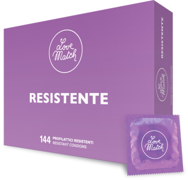 Love Match Resistente - extra strong Condoms 144 pcs.